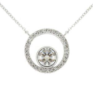 Round Dia pendant